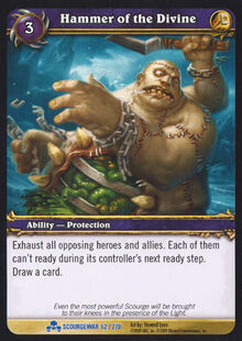 Hammer of the Divine TCG Card.jpg