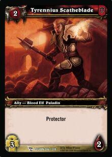Tyrennius Scatheblade TCG Card.jpg