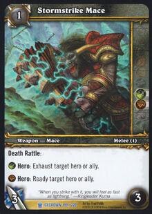 Stormstrike Mace TCG Card.jpg
