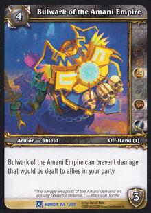 Bulwark of the Amani Empire TCG Card.jpg