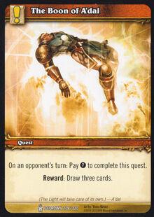 The Boon of A'dal TCG Card.jpg
