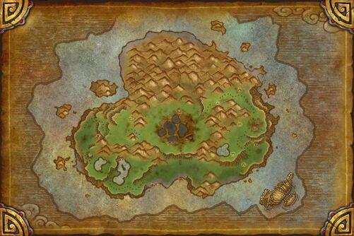 Isle of Giants map