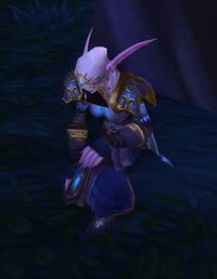 Image of Gravely Wounded Moonfall Defender