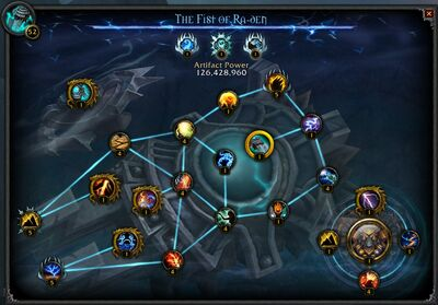 The Fist of Ra-den interface.jpg