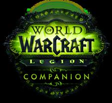 The Legion Companion App logo