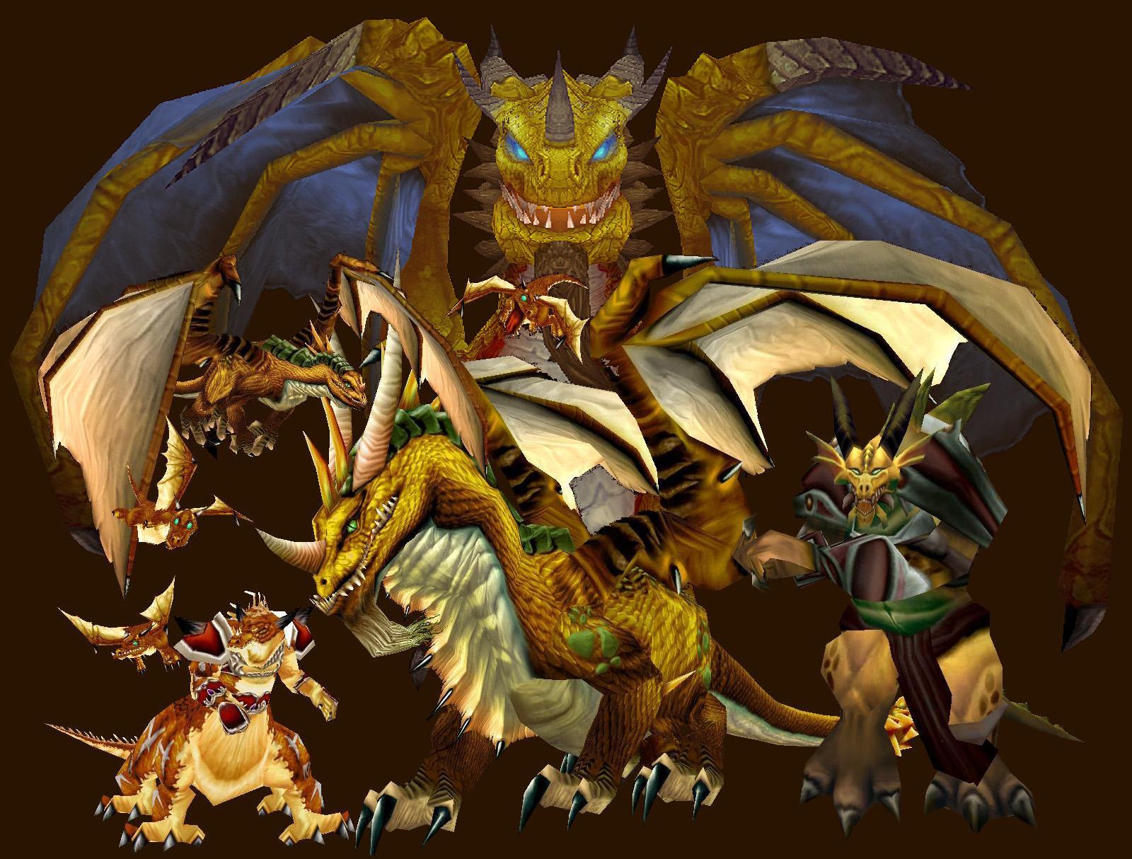 wow gold dragon name