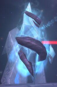 Image of Frozen Binding Crystal