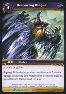 Devouring Plague TCG Card.jpg