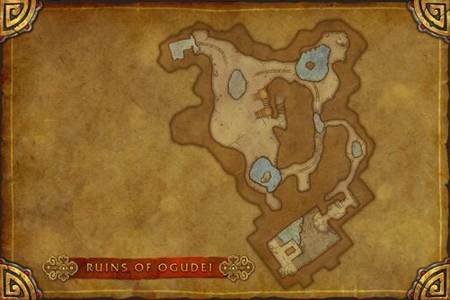 Ruins of Ogudei map