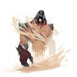 Sandstorm elemental
