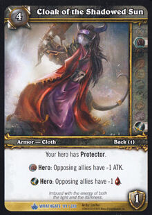 Cloak of the Shadowed Sun TCG Card.jpg