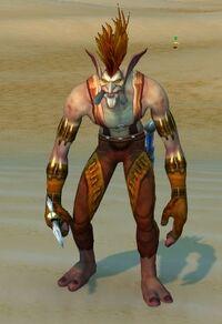 Image of Sandfury Axe Thrower