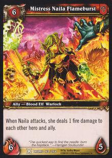 Mistress Naila Flameburst TCG Card.jpg