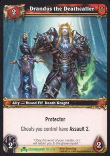 Drandus the Deathcaller TCG Card.jpg