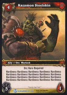 Kazamon Steelskin TCG Card.jpg