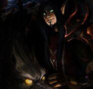 Thormagon Blood Elf Hunter by peachiekeenie
