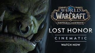 "Cinematic ""Lost Honor"""