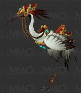 Crane mount white