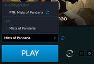 Battle.net app-Beta-game menu