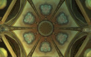 Shaper's Terrace ceiling
