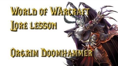 World of Warcraft lore lesson 32 Mal'Ganis