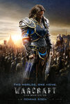 Warcraft movie poster - Lothar