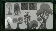 BlizzCon Legion Suramar tree concept art