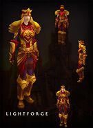 Lightforge Armor human female
