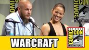 Warcraft Comic Con Panel - Travis Fimmel, Paula Patton, Toby Kebbell, Ben Foster, Dominic Cooper