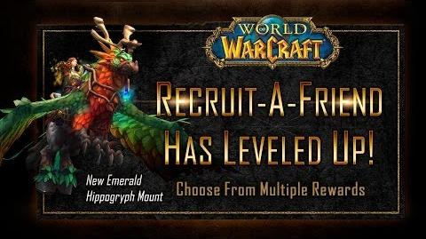 New Recruit A Friend Mount Emerald Hippogryph