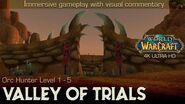 Valley of Trials Questline n' Trivia Playthrough World of Warcraft 4K