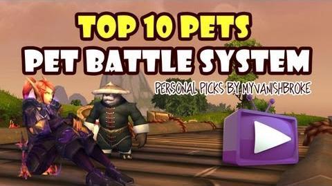 Top 10 Pets for MoP Pet Battle System