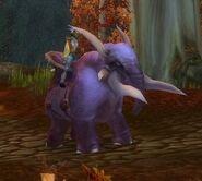 Purple Elekk