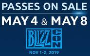 BlizzCon2019-PASSES ON SALE-box