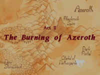 Warcraft II Beyond the Dark Portal - Act II (The Burning of Azeroth).png