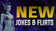 NEW Allied Races Silly Jokes & Flirts - In-Game Preview - Void Elf, Nightborne, Lightforged & Tauren
