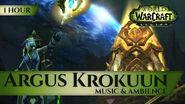 Argus, Krokuun - Music & Ambience (1 hour, 4K, World of Warcraft Legion Shadow of Argus 7