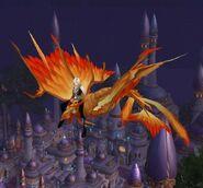 Red Dragonhawk Mount