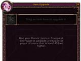 Item Level Upgrades