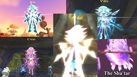 The Story of The Naaru Lore