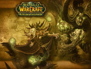 Wrath of the Lich King Outland loading screen
