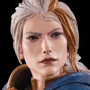 WoW Jaina Statue closeup face