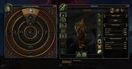 Heart of Azeroth interface