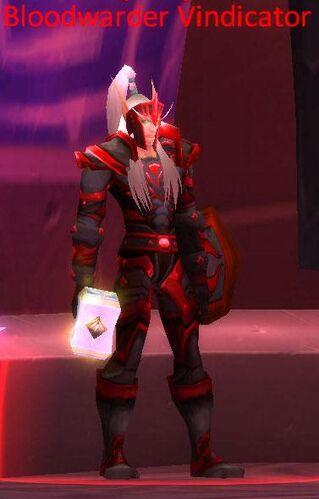 Bloodwarder Vindicator