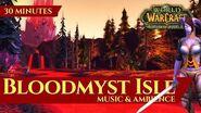 Bloodmyst Isle - Music & Ambience (30 minutes, 4K, World of Warcraft The Burning Crusade)