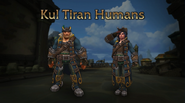 World of Warcraft Kul Tiras heritage armor - Blizzcon 2018