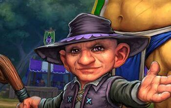 Silas Darkmoon, Manager of the Darkmoon Faire