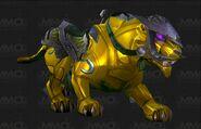 Jeweled dawnstone panther