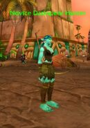 (Echo Isles) Novice Darkspear Hunter 2