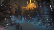 World of Warcraft Mechagon city concept art - Blizzcon 2018